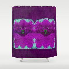 Fantasy Bush Babies Shower Curtain by Pepita Selles - $68.00