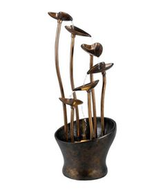 Buy the Kenroy Home Aged Copper Bronze Direct. Shop for the Kenroy Home Aged Copper Bronze Leaves High Outdoor Floor Fountain and save. Indoor Floor Fountains, Indoor Fountain, Water Fountains, Outdoor Fountains, Garden Fountains, Indoor Outdoor, Outdoor Living, Outdoor Ideas, Outdoor Decor