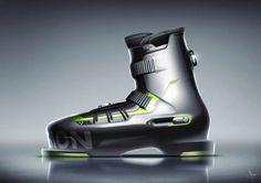 Simon Turac – Ski boot concept