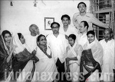 Ashok Kumar, Kishore kumar, Kishore family, Kishore kumar family pics