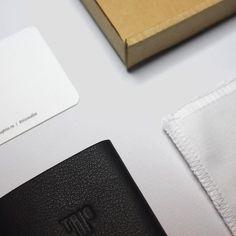 The package of Trio.  #design #minimalism #leather #wallet #triowallet #menswear #style #inspiration #mensclothing #streetwear #luxury #bellroy #slim #accessories