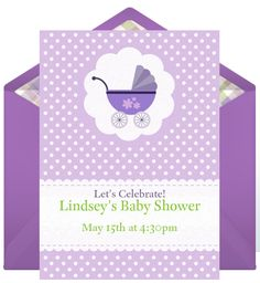 203 best baby shower invitation card images on pinterest email invitations baby showers from punchbowl stopboris Gallery