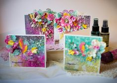 Four Colorful 3D Cards by Svetlana Lisitsyna   Lindy's Stamp Gang