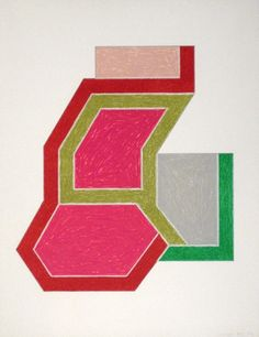 Frank Stella - Sunapee, 1974