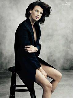 Linda Evangelista by Norman Jean Roy for Vanity Fair Spain September 2012