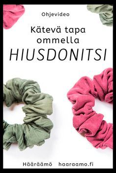 Hääräämö: Ohjevideo: Kätevä tapa ommella hiusdonitsi Diy Crafts How To Make, Diy And Crafts Sewing, Easy Sewing Projects, Easy Diy Crafts, Sewing Hacks, Sewing Tutorials, Sewing Patterns For Kids, Sewing For Kids, Diy Pouch No Zipper