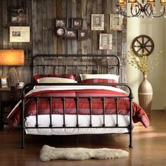 Giselle Victorian Iron Bed. Why do women love this so much?