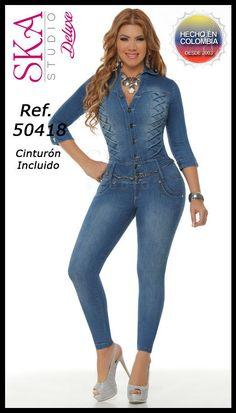Denim Fashion, Womens Fashion, Jeans Jumpsuit, Mini Vestidos, Best Jeans, Hot Outfits, Denim Outfit, Streetwear Fashion, Clothes For Women