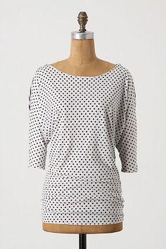 c020c8ec9884 tiny Atomical Tee #anthropologie Classy Outfits, Classy Clothes,  Anthropologie Clothing, Polka Dot