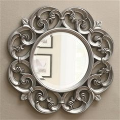 Fleur De Lis Mirror for above chest of drawers