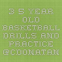 3-5 year old basketball drills and practice  @cdonatan