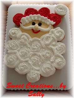 This is a CCC made of 24 cupcakes. Many thanks to The Cakerator. I copied the idea from her. I was searching the Christmas gallery back in A...