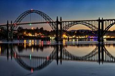 Newport, Oregon Bridge Sunrise