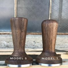 Model S & Model T – Saint Anthony Industries Saint Anthony Industries, Coffee Tamper, S Models, Barista, Leather Tooling, Espresso, Turning, Traditional, Wood
