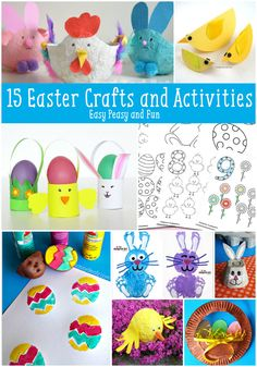 15 Must Do Easter Crafts and Activities for Kids - Easy Peasy and Fun