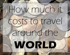 How much it costs to travel around the world