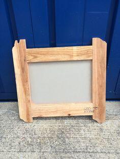古材フレーム(黒板塗装)