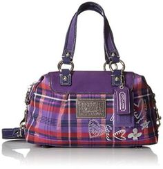 Coach Poppy Tartan Satchel - Berry Multi Color  This is super cute, cool and trendy and the perfect gift for a Sagittarius.  Zodiac gift ideas like this show you are creative, unique and thoughtful.   Consider getting this or other astrology gift ideas for people who are passionate about astrology in this case being a Sagittarius.  Equally cool is some of the Sagittarius inspired home décor.