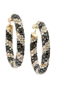 Chanel Fine Jewelry diamond and onyx earrings