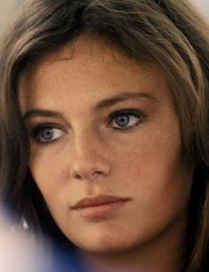 "Jacqueline Bisset - so, so pretty! I worked on a film w/ her called ""Rossini Rossini"", clearly about the composer Rossini. It was shot at Cinecittà in Rome. My pink brocade silk costume was stunning, but it was hard wearing a corset all day w/ my breast shoved up to high heaven - very uncomfortable, though the men on set were drooling. I loved, the pearl & filigree diadem they gave me to wear, & the tight little curls they put my red hair in. ~ETS #jacquelinebisset #jacquelinebisset"