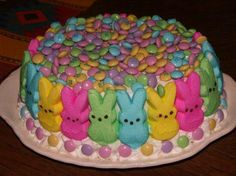 Happy Easter! Perfect for Tri Kappa cake walk this spring