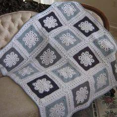 Woolys snowflake throw