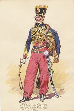 Napoleonic Swords and Sabers Collection: Imperial Guard General and Staff Officer sword