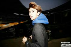 Sehun @ SMTown in Shanghai  Sehun really look innocent here.. love this pic really much