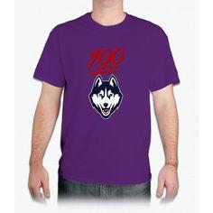 Uconn Huskies 100th Straight Win - Mens T-Shirt