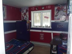 Montreal Canadiens-kids theme room