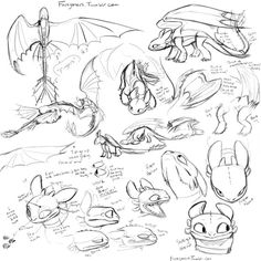 So toothlesswillbethedeathofme asked for help with making Night fury bodies…. and I am definitely not the best at teaching whatsoever, but I tried anyway (and I needed to exercise a. Httyd Dragons, Cute Dragons, How To Draw Dragons, Creature Drawings, Animal Drawings, Croque Mou, Toothless Drawing, How To Draw Toothless, Dragon Anatomy