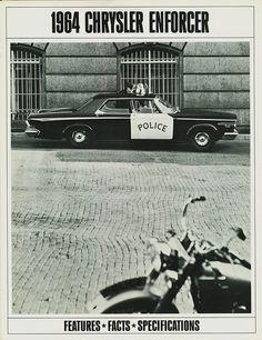 1964 Chrysler Enforcer Police Car Brochure