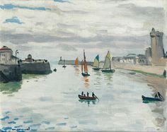 Albert Marquet - Port de la Chaume, Les Sables d'Olonne (1921)