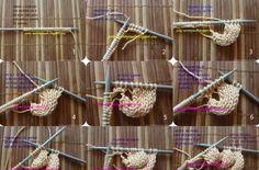 Chunky tricot cardigan - raze asiatice Cardigan model. ~ CK Artizanat