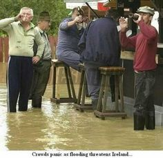 Flooding in Ireland  funny tumblr follow LOLFACTORY on...