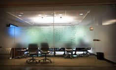 creative meeting space writing on glass - Google Search