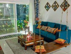 Home Room Design, Living Room Decor Apartment, Indian Room Decor, Home Decor, Home Entrance Decor, Indian Home Interior, India Home Decor, House Interior Decor, Home Decor Furniture