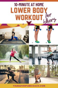 Do you wish you were in better shape for hiking? Do you wish your legs didn't immediately feel like they were going to give out the second the trail starts to creep up an incline? I've been there! I'm sure I'm not the only hiker who struggles with this, so I've put together this super quick at home lower body workout to build or maintain your hiker legs! Backpacking Tips, Hiking Tips, Hiking Essentials, Boxing Workout, Outdoor Woman, Mens Fitness, Kayaking, Trail, Surfing