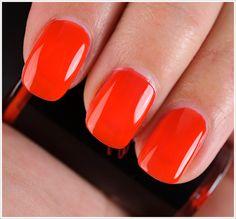 MAC Kid Orange Nail Lacquer