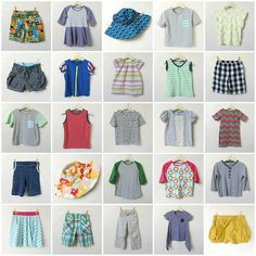 Some great home-made kids clothes for both boys and girls