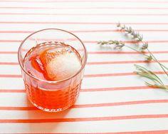 Friday Happy Hour: Peach & Berry Summer Shrub