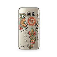 Amazon.com: Elephant Henna Gold TPU Phone Case For Samsung S5, Samsung S6, Samsung S6 Edge, Samsung S7 and Samsung S7 Edge (Samsung S7): Cell Phones & Accessories