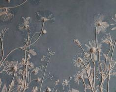 Rachel Dein Botanical Art in Plaster and Concrete by RachelDein Creation Art, Creation Deco, Art Texture, Solomons Seal, Plaster Art, 3d Studio, Art Abstrait, Lily Of The Valley, Botanical Art