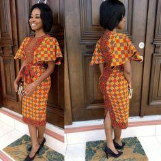 Fashion modern styles african