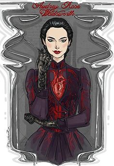 """Audrey Rose Wadsworth (""""Stalking Jack the Ripper"""" by @ kerrimaniscalco) Drawing Victorian fashions + bloody/bony stuff makes me go mua-ha-ha-ha:)) Character Inspiration, Character Art, Character Concept, Fanart, Book Characters, Female Characters, Jack Ripper, Darkside Books, Audrey Rose"""