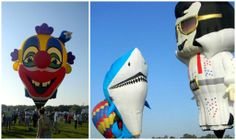 Giant Balloons Fill the Sky With Color and Excitement at Balloons Over Paradise Event!