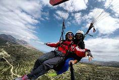 Tandem Paragliding crete Falasarna beach