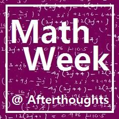Afterthoughts: Welcome to Math Week! {Series Introduction} - 5 posts on how to teach math the CM way.  #charlottemason