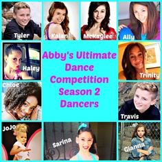 The dancers! Who's gone in order: Sarina, Chloe, Kalani (but she came back), Haley, Tyler, Ally, and Travis