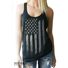 American Flag Tank Top 4th of July Festival Tank Memorial Day Stars... ($22) ❤ liked on Polyvore featuring tops, pink, tanks, women's clothing, racer back tank, american flag tank top, loose tank, loose racerback tank tops and striped tank